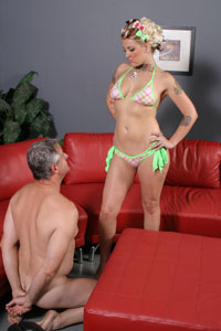 Candy Monroe and White Cuckold